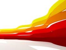 Linhas de cor abstratas Fotografia de Stock