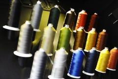 Linhas de costura Fotos de Stock