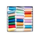 Linhas de costura Fotografia de Stock