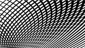 Linhas de fluxo onduladas teste padrão abstrato Teste padrão de grade da onda das linhas Vetor Eps10 ilustração stock