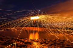 Linhas de fogo Fotos de Stock