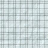 Linhas de grade sem emenda da quadriculação na textura de papel dobrada Imagem de Stock Royalty Free