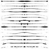 Linhas de Grunge Fotografia de Stock
