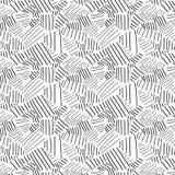 Linhas de mão teste padrão ilustração royalty free