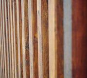 Linhas de madeira Foto de Stock Royalty Free