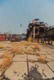 Linhas de produção do ferro e da fábrica de aço Imagens de Stock Royalty Free