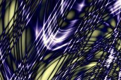 Linhas de Techno ilustração do vetor