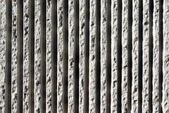 Linhas de texturas concretas na parede imagem de stock royalty free