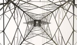 Linhas de transmissão da energia eléctrica imagem de stock royalty free