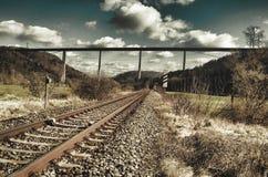Linhas de transporte de uma comunicação fotos de stock
