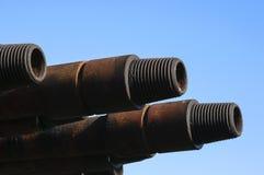 Linhas de tubulação da broca Fotografia de Stock