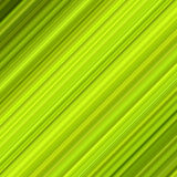 Linhas diagonais coloridas verdes. fotografia de stock