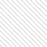 Linhas diagonais com uma grande diferença Foto de Stock