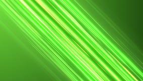 Linhas diagonais verdes da velocidade do anime Fundo do movimento do Anime ilustração stock