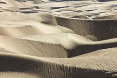 Linhas do deserto Fotos de Stock Royalty Free