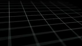 Linhas do fulgor da arte do conceito de transferência de dados que movem o vídeo do fundo da arte da tecnologia da informação video estoque