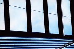 Linhas da janela Fotografia de Stock Royalty Free
