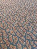 Linhas do tapete do teste padrão fotografia de stock royalty free