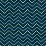 Linhas douradas luxuosas elegantes geométricas abstratas sem emenda do teste padrão de ziguezague em um escuro - cópia azul do zi ilustração stock
