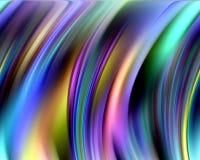 Linhas e contrastes coloridos circulares vívidos, teste padrão ilustração stock