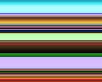 Linhas e contrastes coloridos vívidos, teste padrão ilustração stock