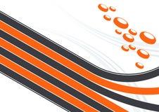 Linhas e discos ilustrados   ilustração stock