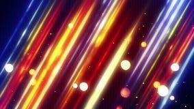 Linhas e laço diagonais borrados 4k do bokeh (4096x2304) filme