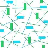 Linhas e retângulos Foto de Stock Royalty Free