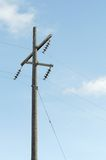 Linhas eléctricas Fotos de Stock Royalty Free