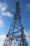 Linhas eléctricas Imagens de Stock Royalty Free