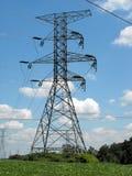 Linhas elétricas Foto de Stock