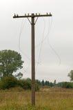 Linhas elétricas fotografia de stock