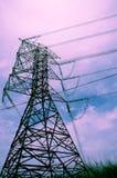 Linhas eléctricas Imagem de Stock Royalty Free