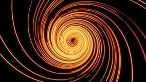 Linhas espirais animados abstratas ilustração do vetor