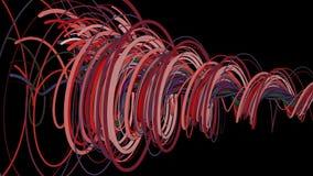 Linhas espirais coloridas ilustração royalty free