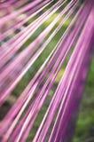 Linhas esticadas em um ângulo Fotos de Stock Royalty Free