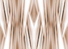 Linhas futuristas fundo do Sepia Foto de Stock