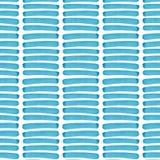 Linhas horizontais azuis teste padrão da textura artística gráfica elegante lindo bonita abstrata brilhante de ilustração da mão  ilustração do vetor