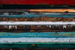 Linhas horizontais coloridas fotografia de stock royalty free