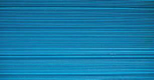 Linhas horizontais do Aqua Fotografia de Stock