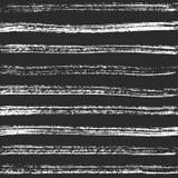 Linhas horizontais do carvão vegetal Textura preta mão-crafted vetor ilustração royalty free