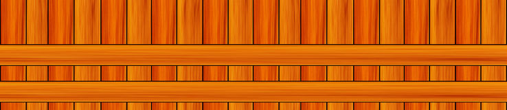 Linhas horizontais paralelas placas verticais do teste padrão do panorama Foto de Stock Royalty Free
