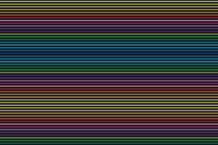 Linhas horizontais sumário Imagens de Stock Royalty Free