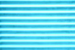 Linhas horizontais teste padrão, azul Foto de Stock