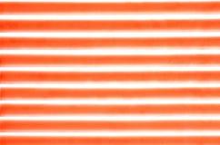 Linhas horizontais teste padrão, vermelho Imagens de Stock