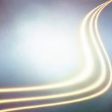 Linhas impetuosas brilhadas Imagens de Stock