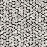 Linhas irregulares sem emenda teste padrão de mosaico do vetor Textura caótica abstrata do tessellation ilustração royalty free