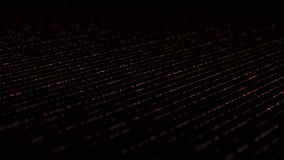 Linhas isométricas dinâmicas vermelho do relâmpago ilustração royalty free