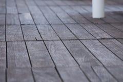 Linhas macias bonitas da madeira do foco Fotografia de Stock Royalty Free