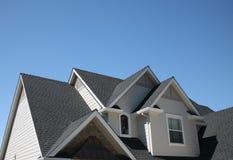 Linhas múltiplas do telhado Foto de Stock Royalty Free
